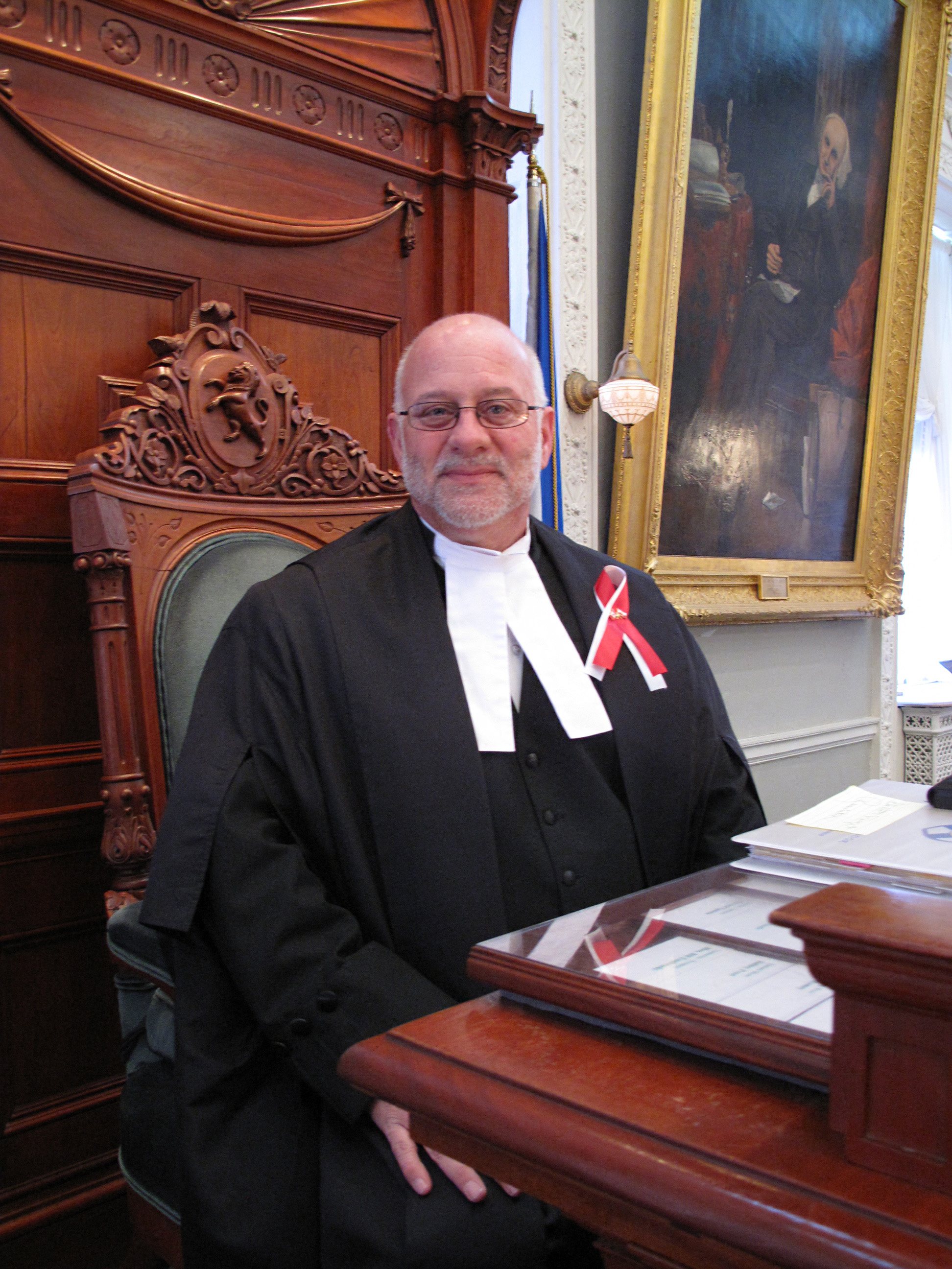 Speaker of the House, Hon. Gordie Gosse